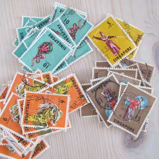 Stamps Singapore5
