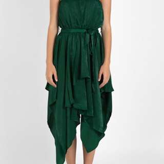 Dissh Boutique Forest Green Tinkerbell Dress - Size Small