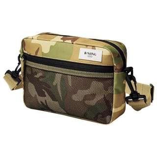 smart B:MING by BEAMS 防潑水加工迷彩肩背包 單肩袋 側揹袋