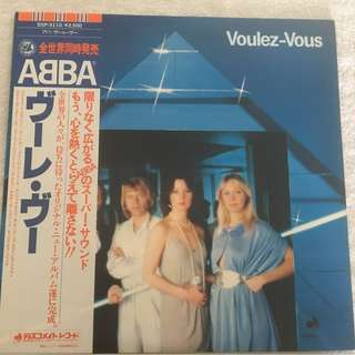 ABBA ‎– Voulez-Vous, Japan Press Vinyl LP, Discomate ‎– DSP-5110, 1979, with OBI
