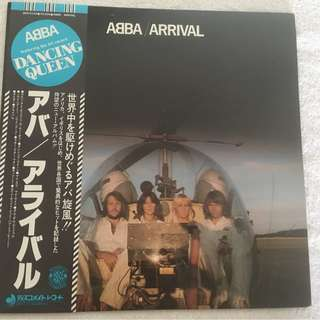 ABBA ‎– Arrival, Japan Press Vinyl LP, Discomate ‎– DSP-5102, 1977, with OBI