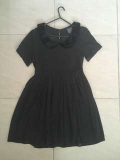 Alice In The Eve velvet collar dress