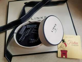 Links of London 紙袋 紙盒 連絲帶及心意卡 gift set charm