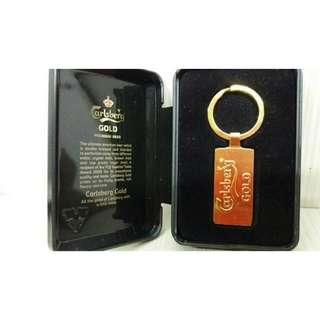Carlsberg Gold Keychain