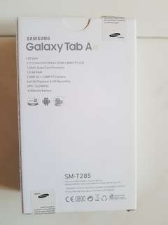 New Samsung Galaxy Tab A for sale (No warranty)