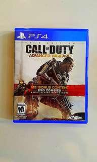 Ps4 Gold Edition ; Call of Duty Advanced Warfare