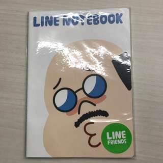 🚚 SALE 🌈 BN Naver Line Friends Boss Writing Notebook