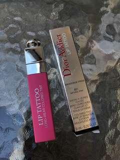 Preloved Dior lip tatto