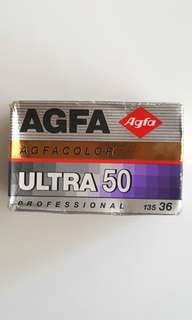 Expired 135 Film Agfacolor Ultra 50