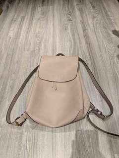 Nude Vegan Leather Bucket Backpack