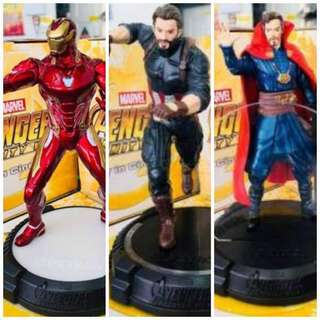 Iron Man Captain America & Dr Strange Avenger Infinity War by Petron Set of 3pcs