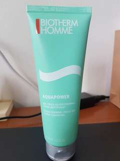 Biotherm Homme Aquapower cleansing fresh gel