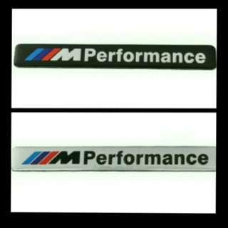 M-performances Plate Emblem for BMW