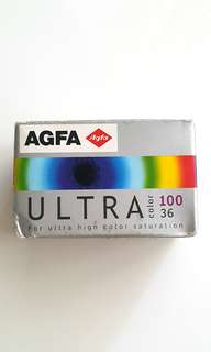 Expired 135 Film Agfa Ultra Color ISO 100