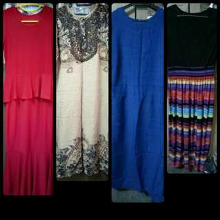 Woman's Dresses - 5pcs !! Free Delivery