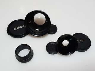 Nikon Tele Converter and Wide Converter for Nikon Coolpix 885
