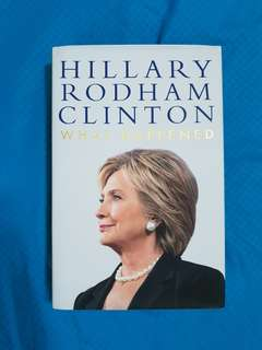 What Happened - Hillary Clinton (Hard Cover)