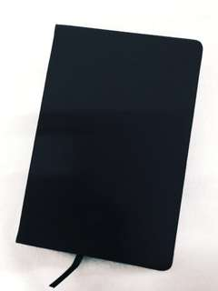 All Black Notebook