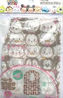 🚚 迪士尼拋棄式圍兜#Tsum Tsum