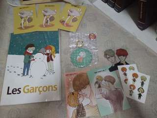 Exo OTP HunHan Fanart Books (HELP A FRIEND!)