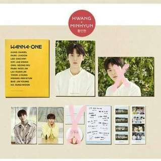 🚚 Wanna One innisfree旼炫禮包 G市版