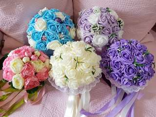 Brand New Artificial Wedding Bouquet/ Bridal Bouquet Wedding Flowers