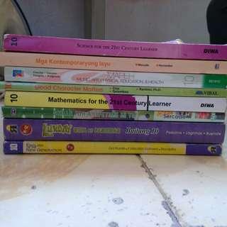 K12 Grade 10 books