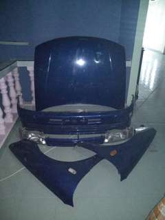 BodyKit Lebero ( can fit all type of Proton WIRA )