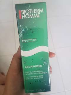 Biotherm Homme Aquapower hydrating lotion