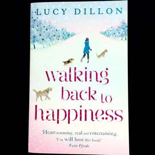 Walking Back To Happiness by Lucy Dillon (romance book)