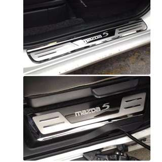 Mazda 5 Stainless Steel Scuff Plate