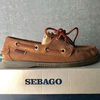 Sebago Docksides Bronze