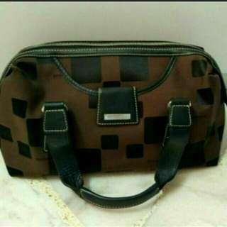 Braun Buffle Handbag