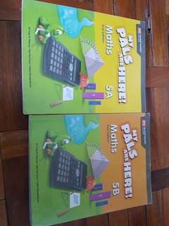 My pals are here MATH  2nd edition 5A AND 5B