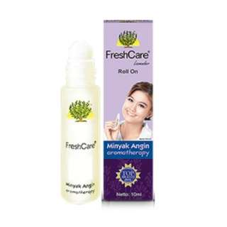 FreshCare (Lavender) Aromatherapy Roll On Ointment / Medicated Oil / Minyak Angin