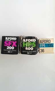 Expired 135 Film ILFORD