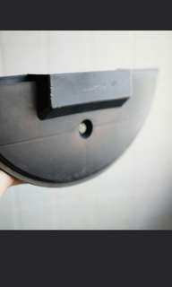 Vespa spare wheel plate