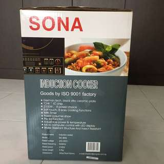 Sona Induction Cooker