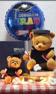 [BEARSAVENUE] Graduation bear / Graduation Balloons