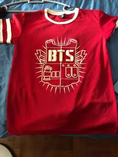 BT's shirt