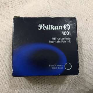 Pelikan Fountain Pen Ink 4001 Blue Black
