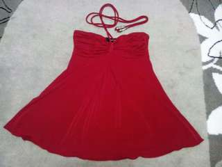 Sale!Sale!Sale! Red backless