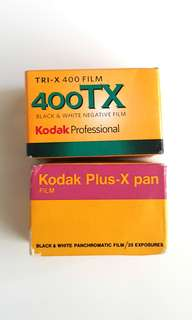 Expired 135 Film Kodak B&W