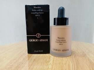 Giorgio Armani Maestro fusion makeup foundation No.4 粉底四號色
