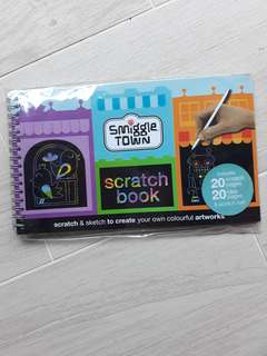 Smiggle Scratch Book
