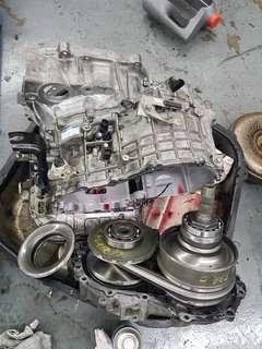 Estima gearbox rebuild
