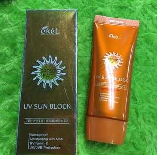 AUTHENTIC! EKEL Sun Block Sunscreen UV Protection SPF 50 PA+++