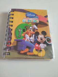 Mickey Notebook with Dividers