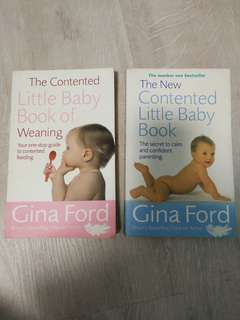 The contented little baby books