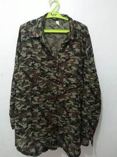 Army camouflage long sleeves